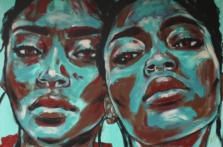 painting two women esan sommersell.jpg