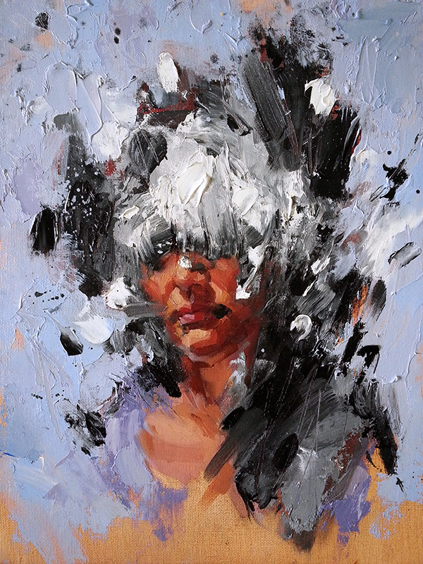 Damian Goidich, Create and Destroy V (She Wore Flowers in Her Hair)