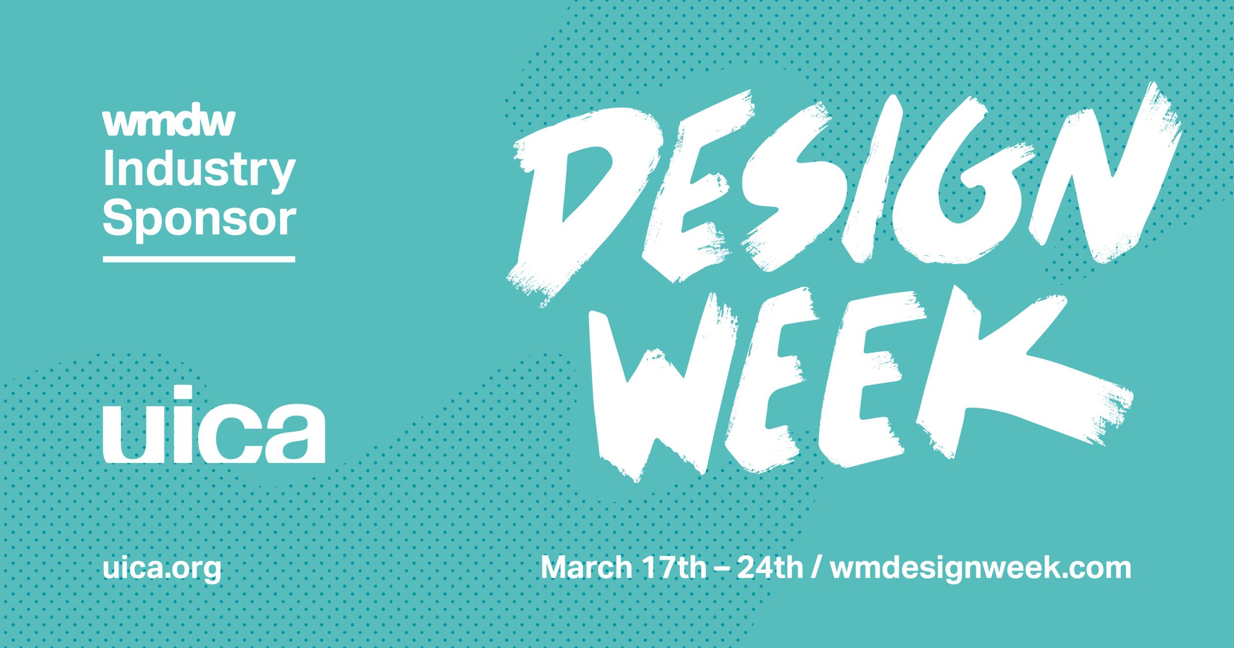 West Michigan Design Week 2018 logo