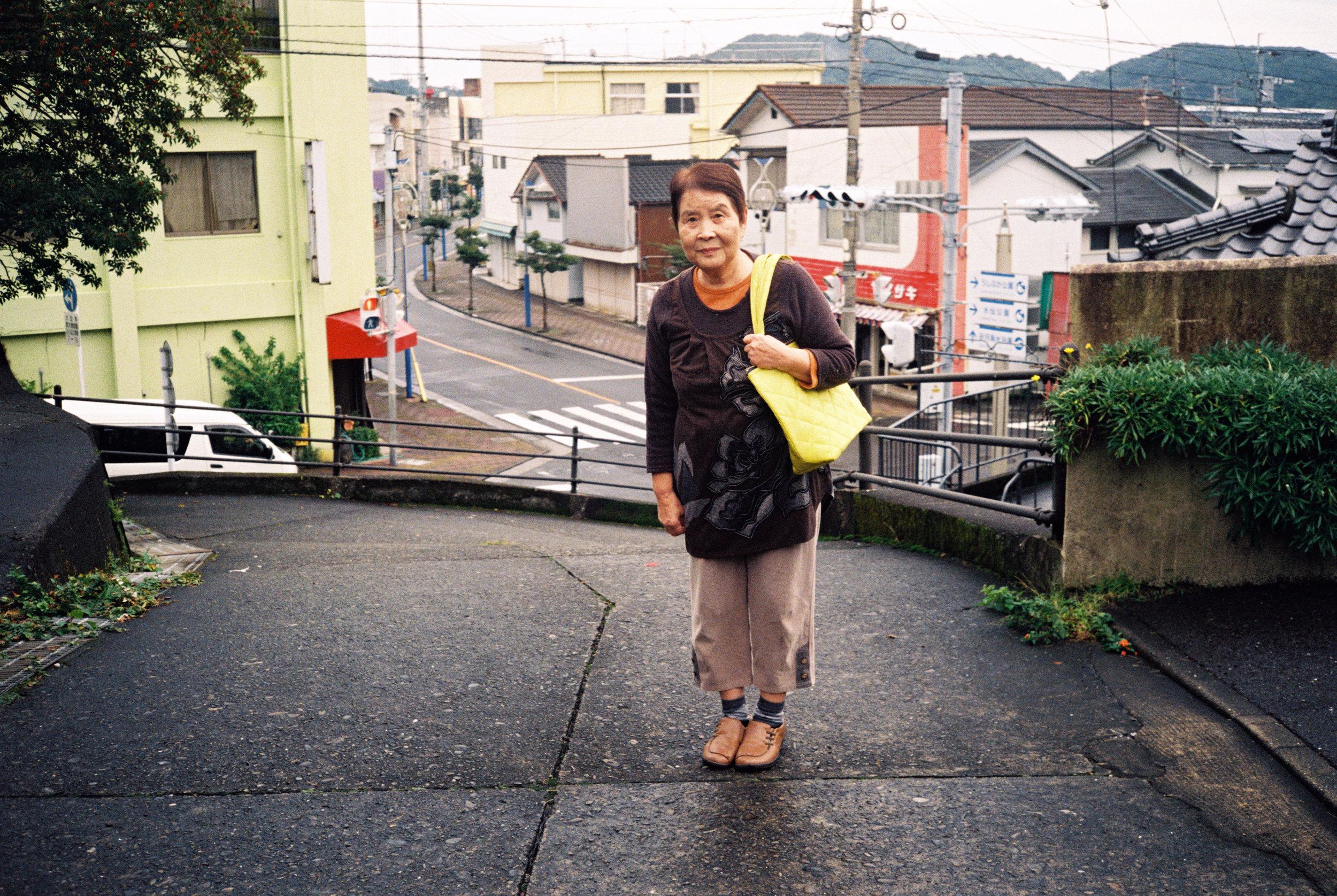 Zachary Trebellas,  Ushida Portrait. 35mm Film. Ushibuka. 2017