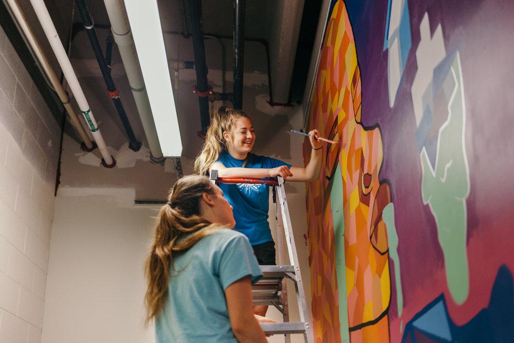 UICA ArtWorks Community Mural