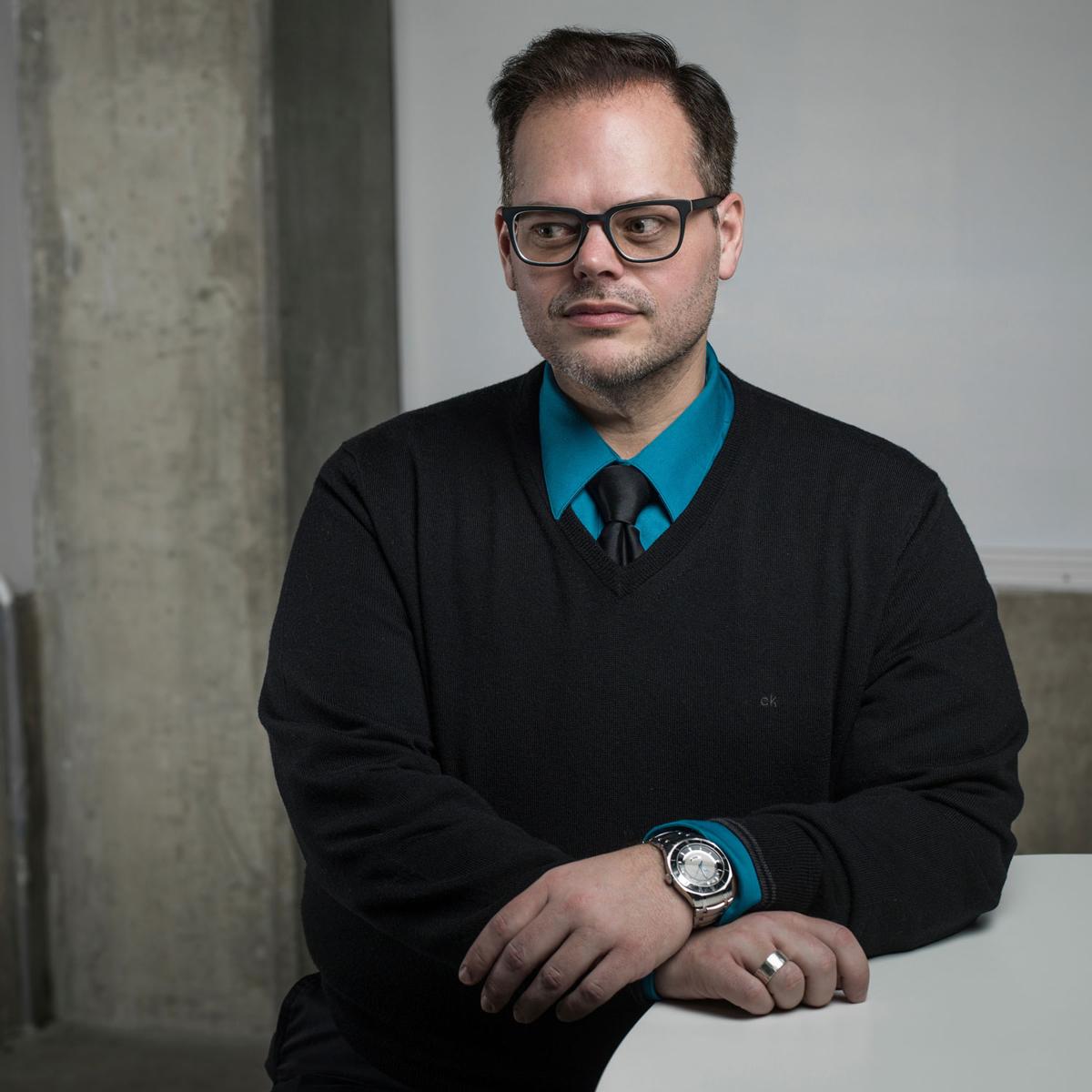 UICA Marketing & Communications Coordinator Chris Koens