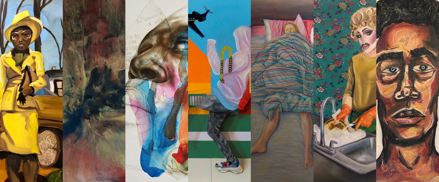 Details from 7 works from  Breaching the Margins