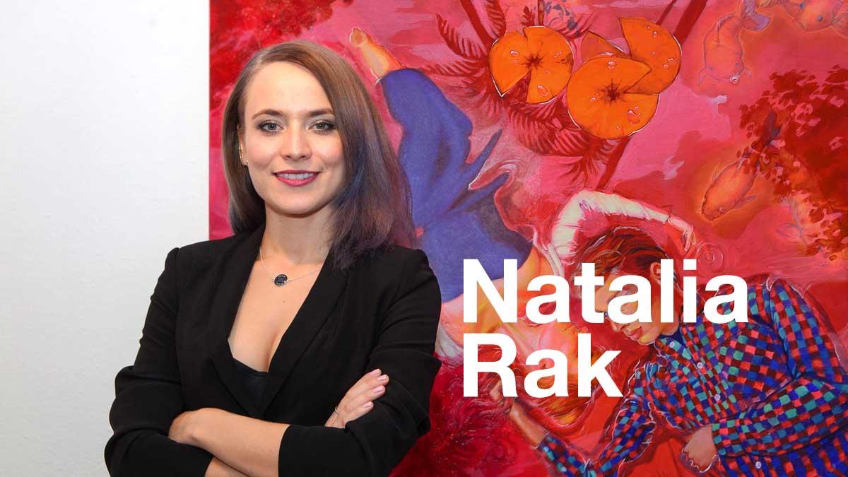 Natalia Rak, muralist