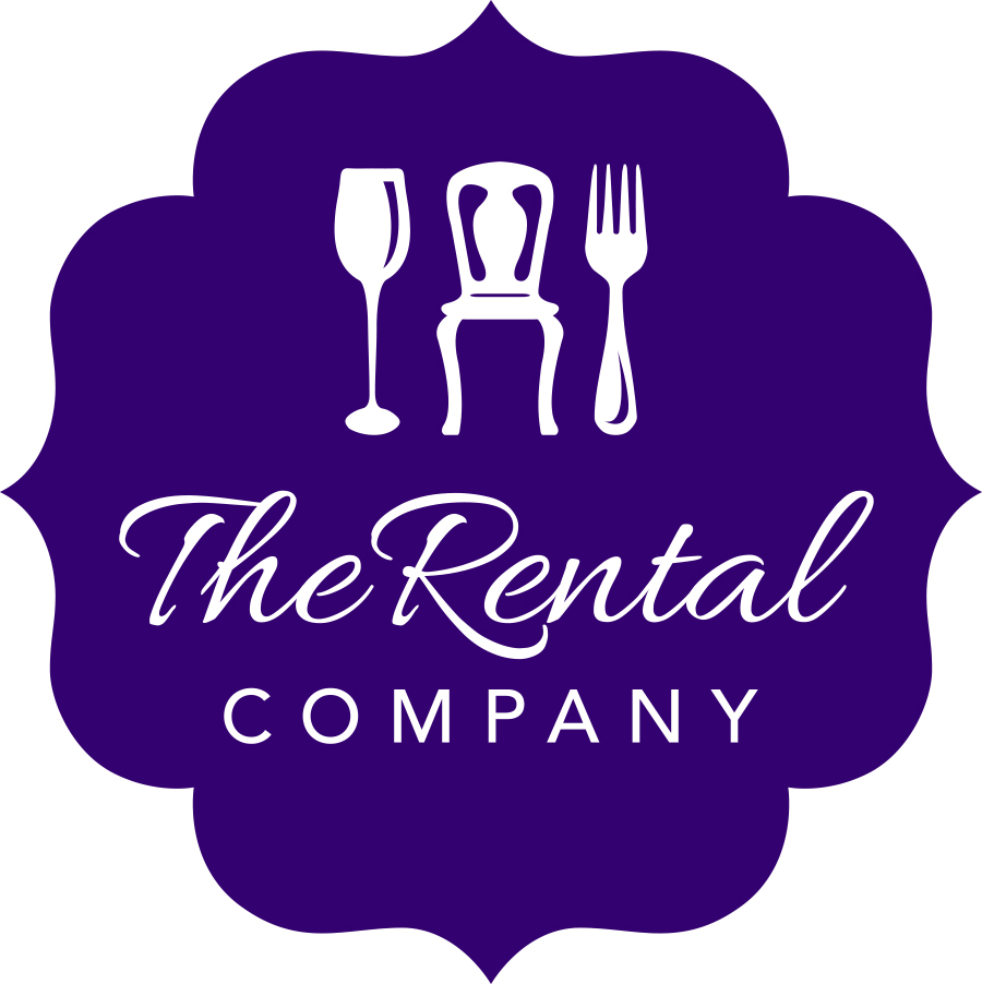 Purple Logo for The Rental Company