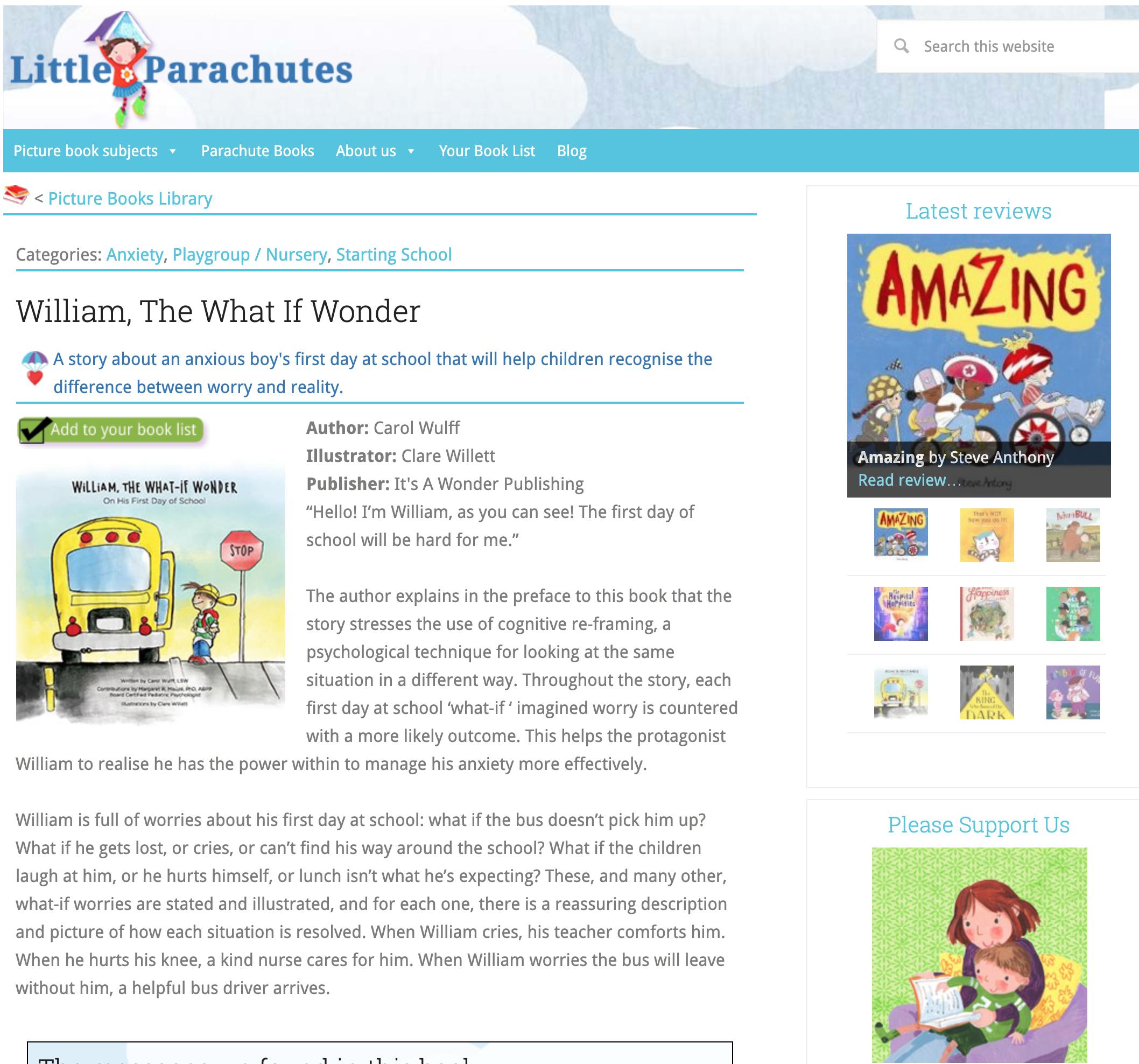 Little Parachutes Book Review -