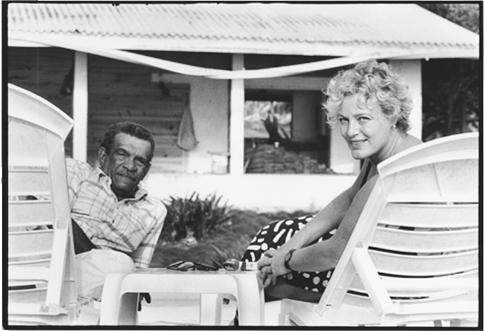 Derek Walcott and Sigrid Nama by Judith Aronson.jpg