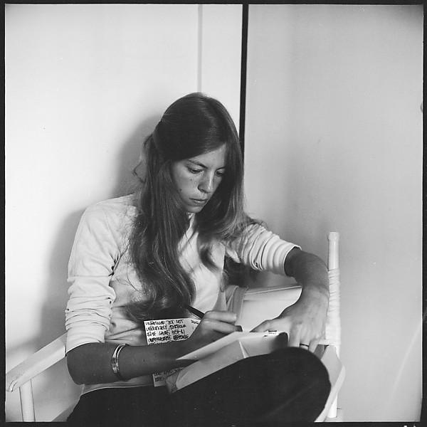 Melinda Blauvelt in her Apartment, New Haven, by Walker Evans 1973.jpg