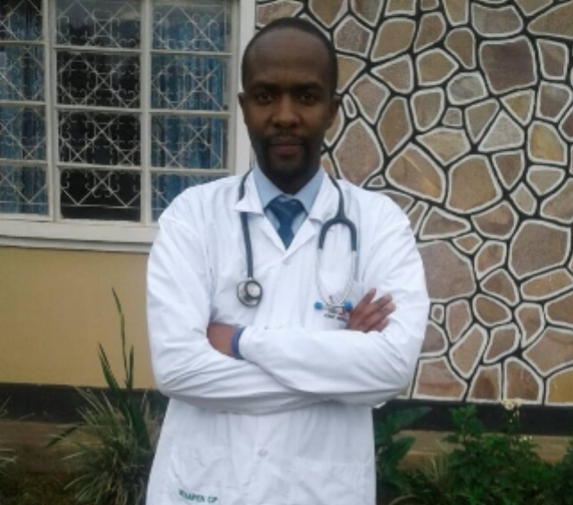 Louis Byarugaba PA-C Medical Director in Uganda