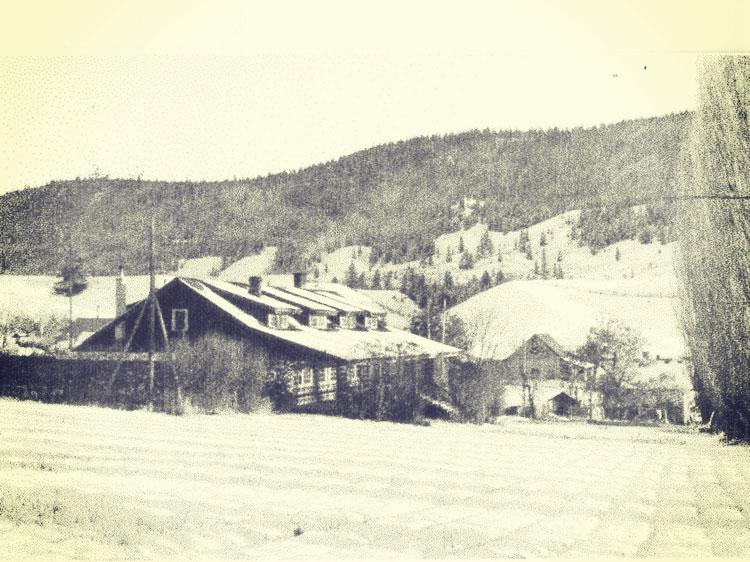 Alkali Lake Ranch Bunkhouse |  Museum of the Cariboo Chilcotin