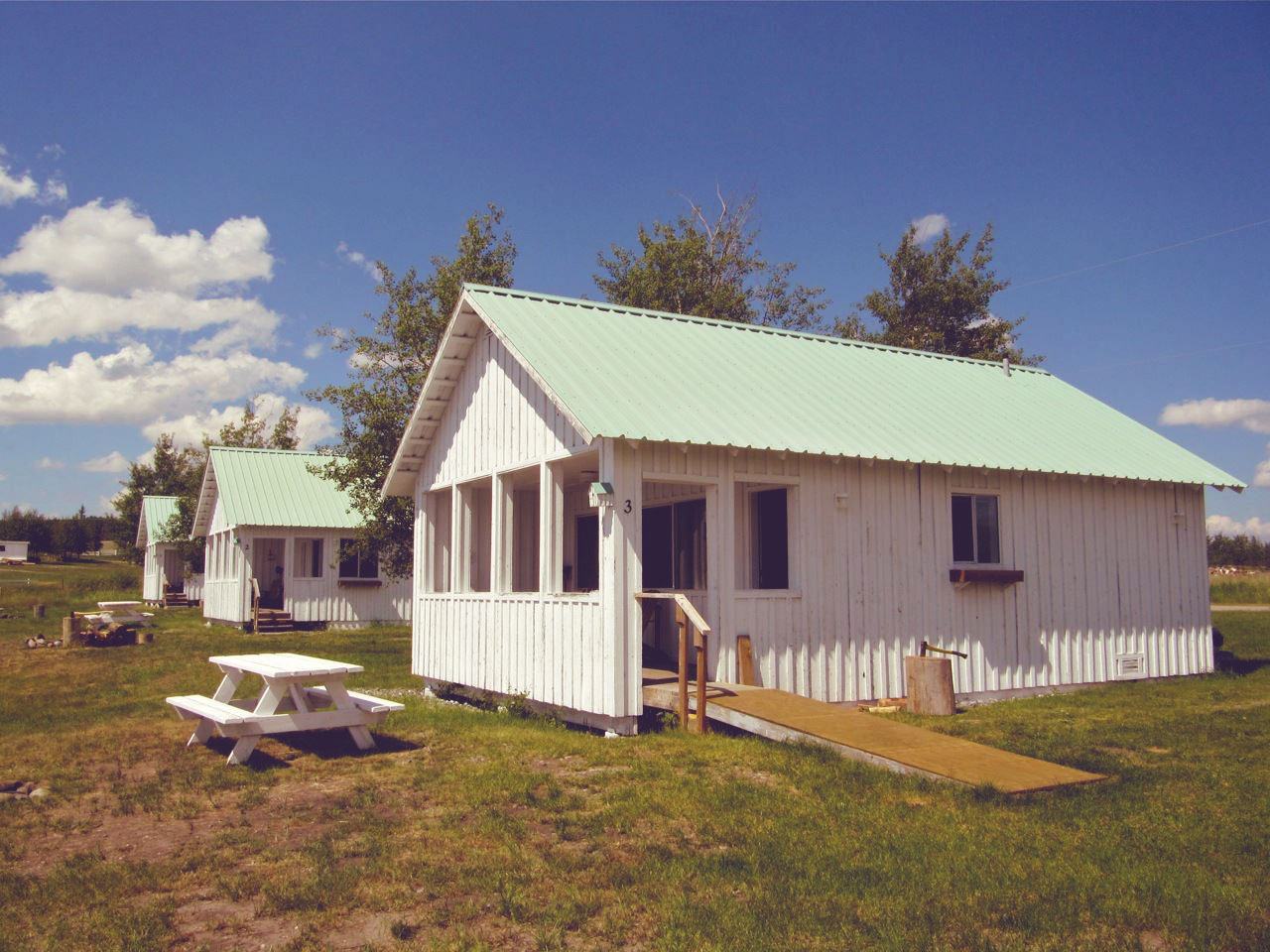 Campground, RV sites and cabin rentals.