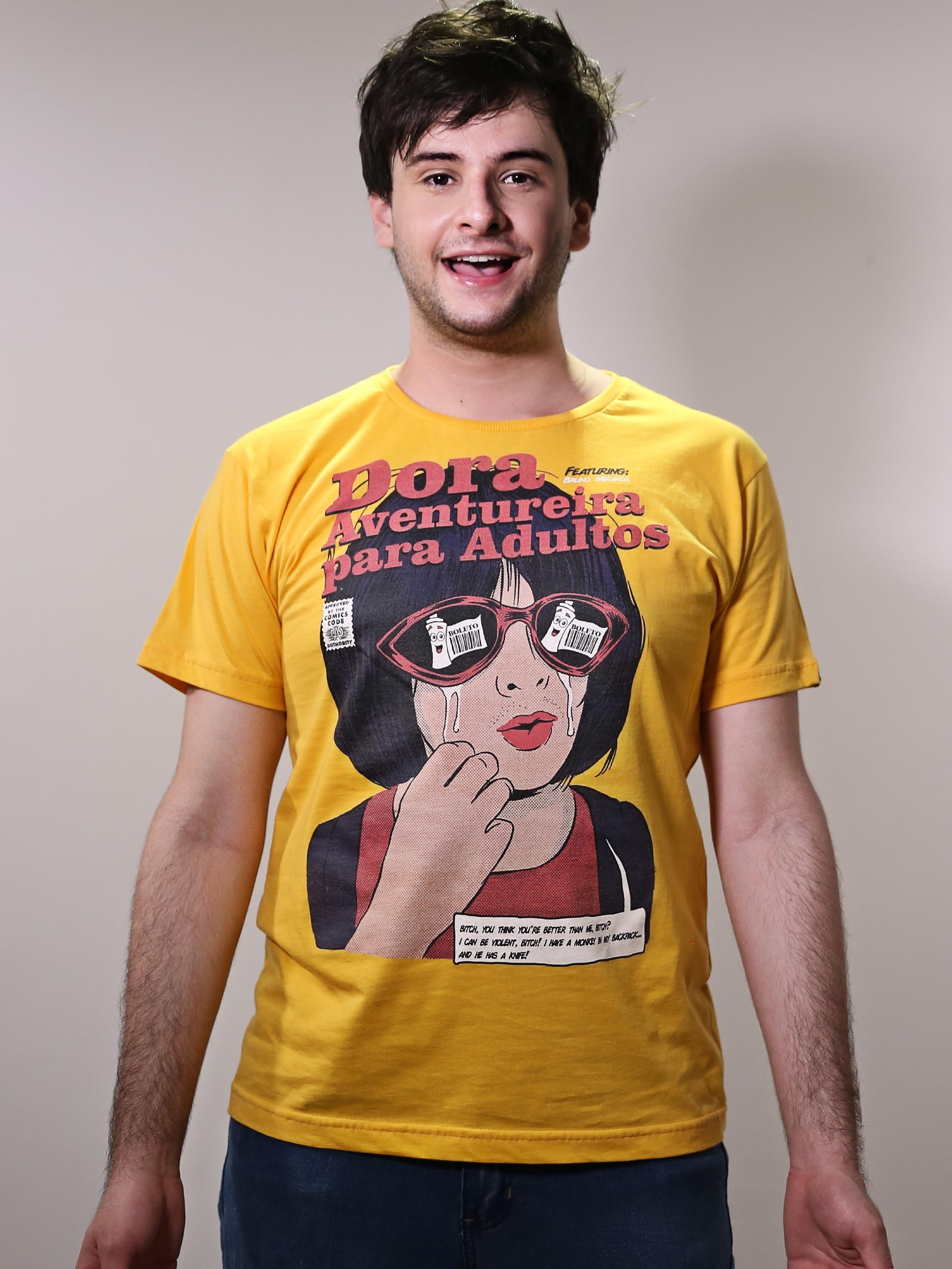 Camiseta Dora Aventureira para Adultos