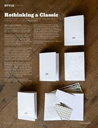 Rethinking a Classic, ALIVE Magazine, 10/15
