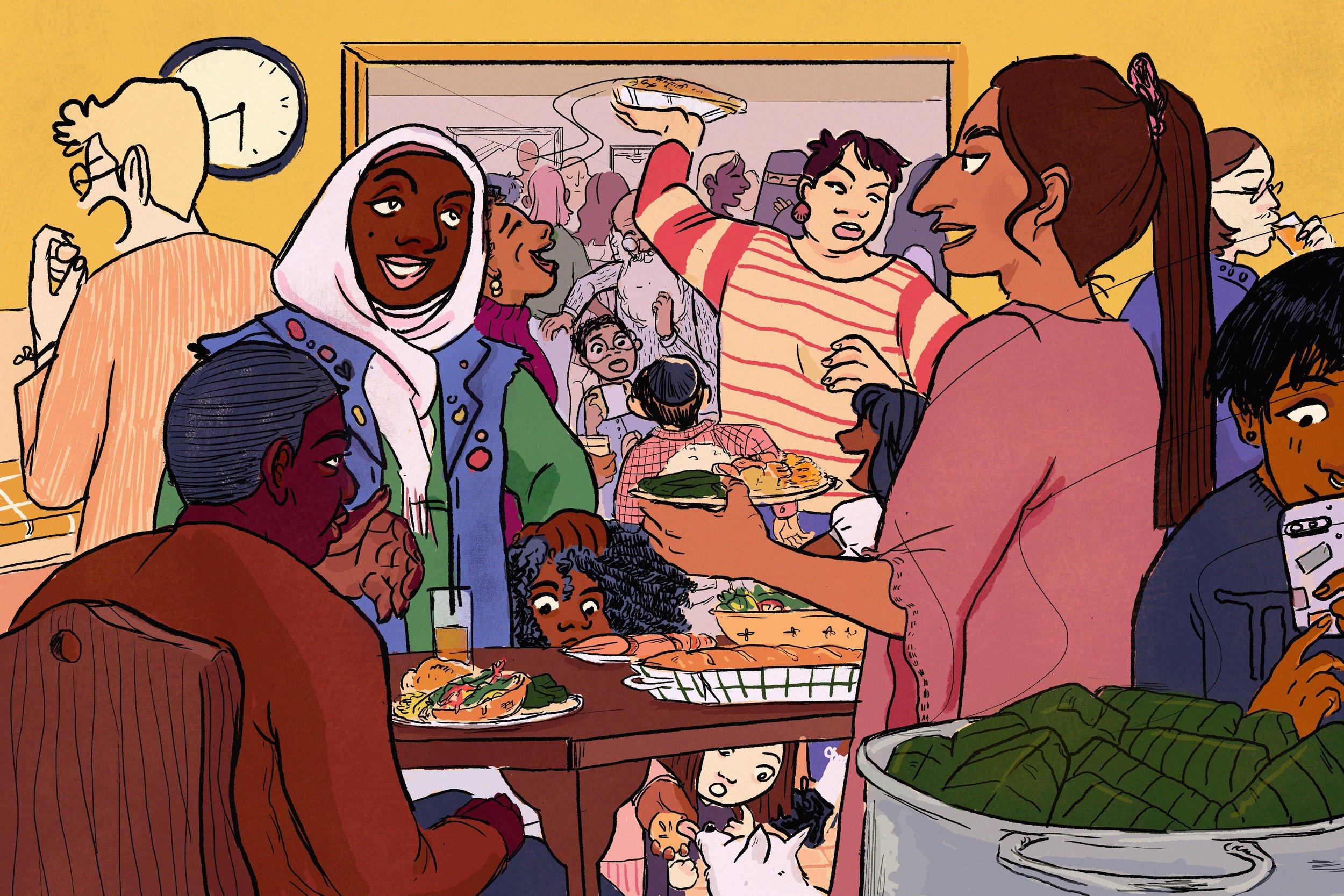 """Gathering"" by Elianne Melendez"