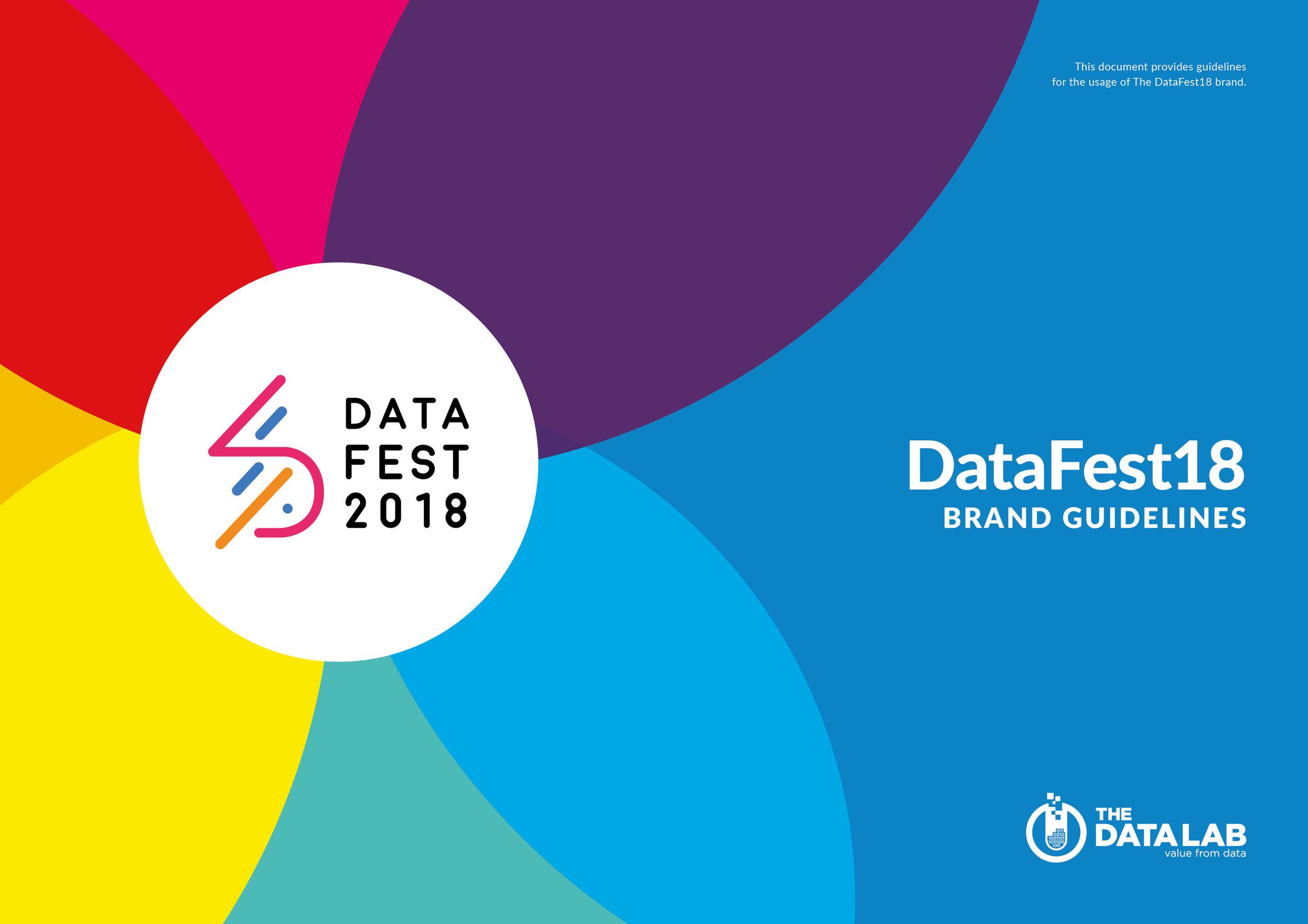 DataFest Guidelines Cover