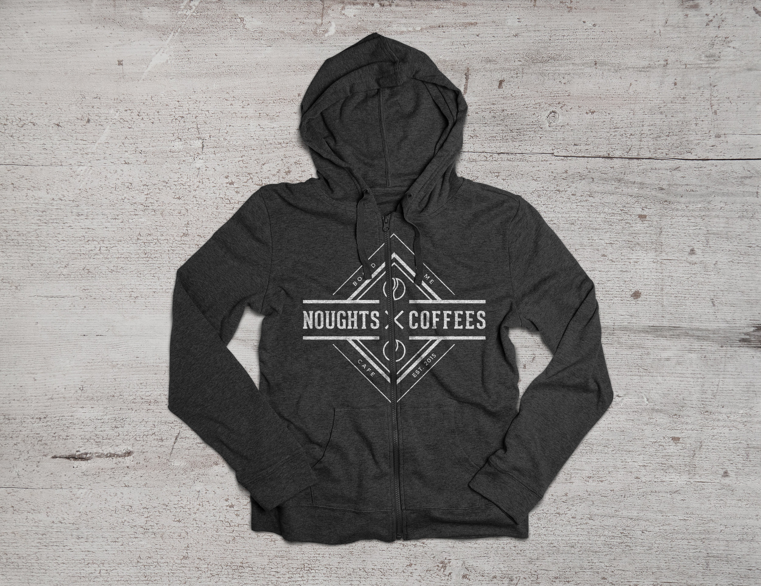 noughts and coffees hoodie