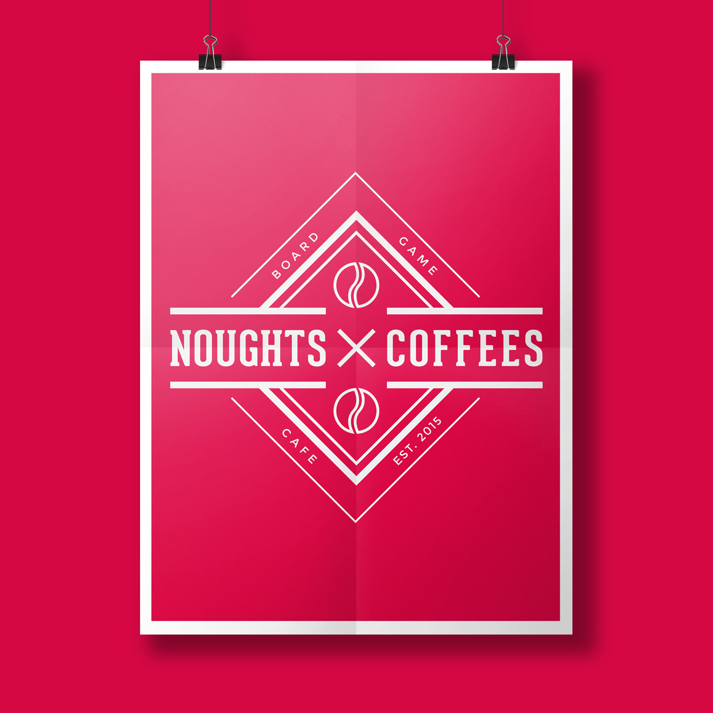 noughts and coffees poster