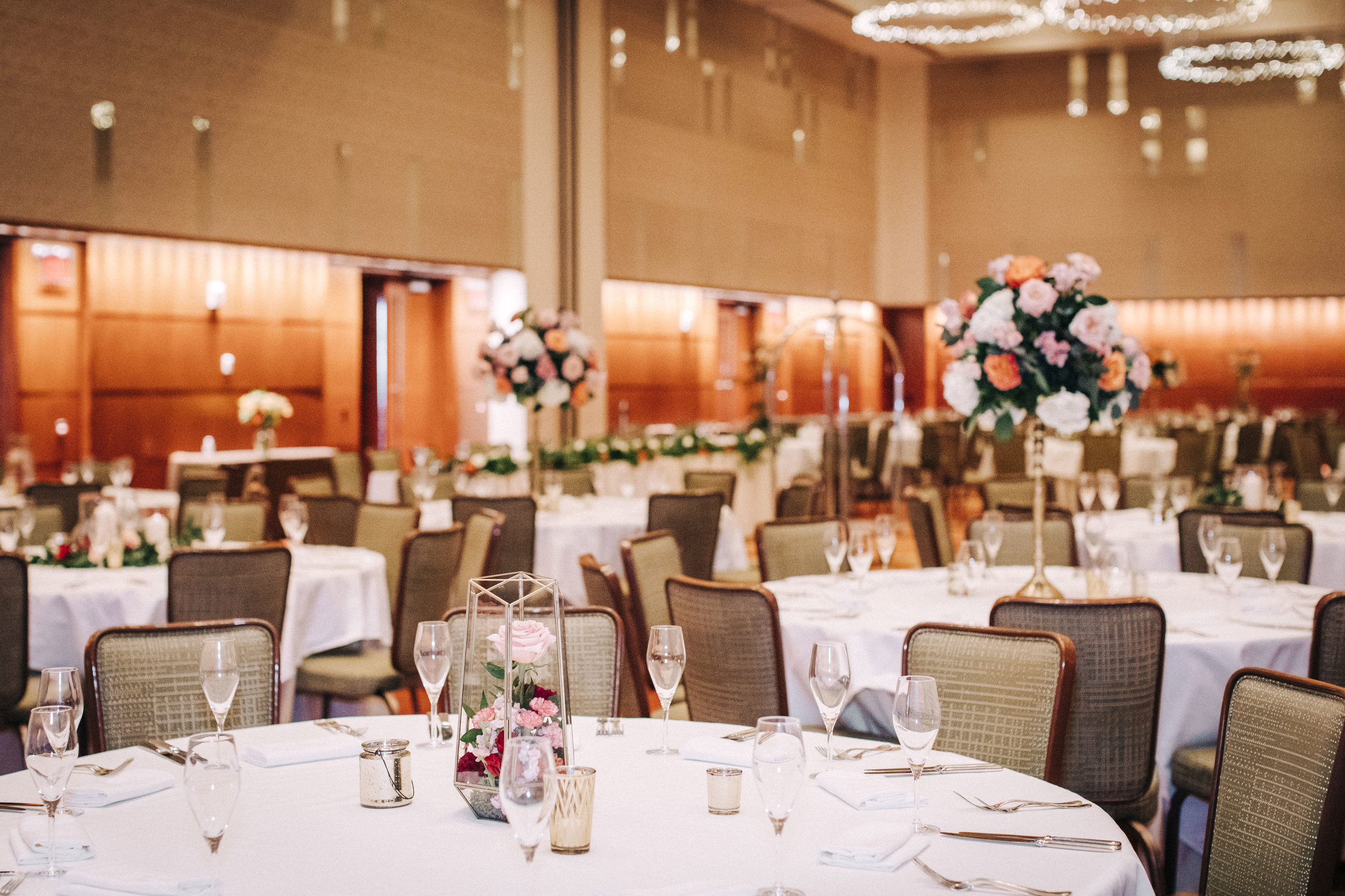 ballroom centerpieces