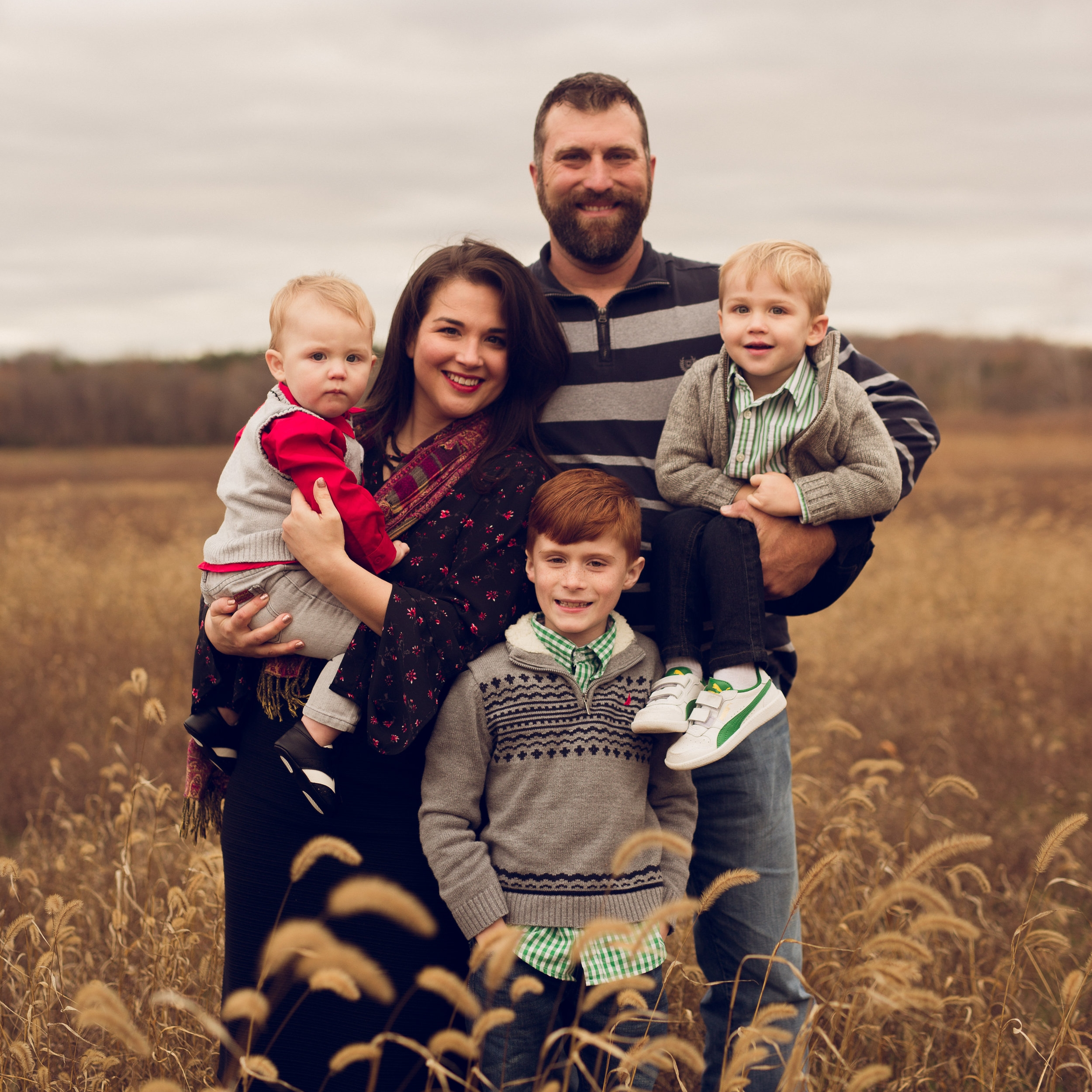 KNOW YOUR FARMER- the evans family - Photo courtesy of Starla Photography