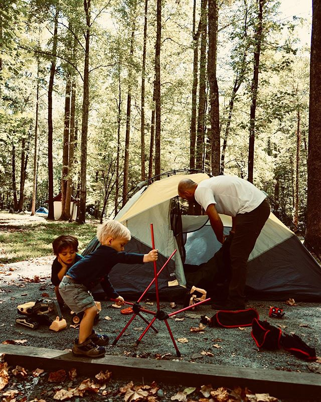 Do you enjoy camping? We love it - esp the kids. Maybe one day we'll upgrade to be like @denforourcubs & camp year round!