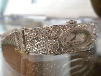 deco diamond watch