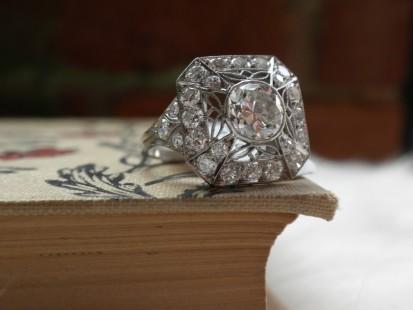 webs of diamonds