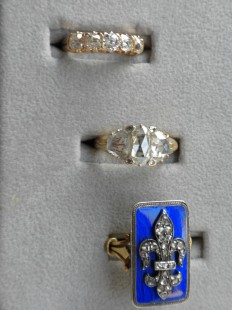 Victorian and Edwardian yellow gold rings