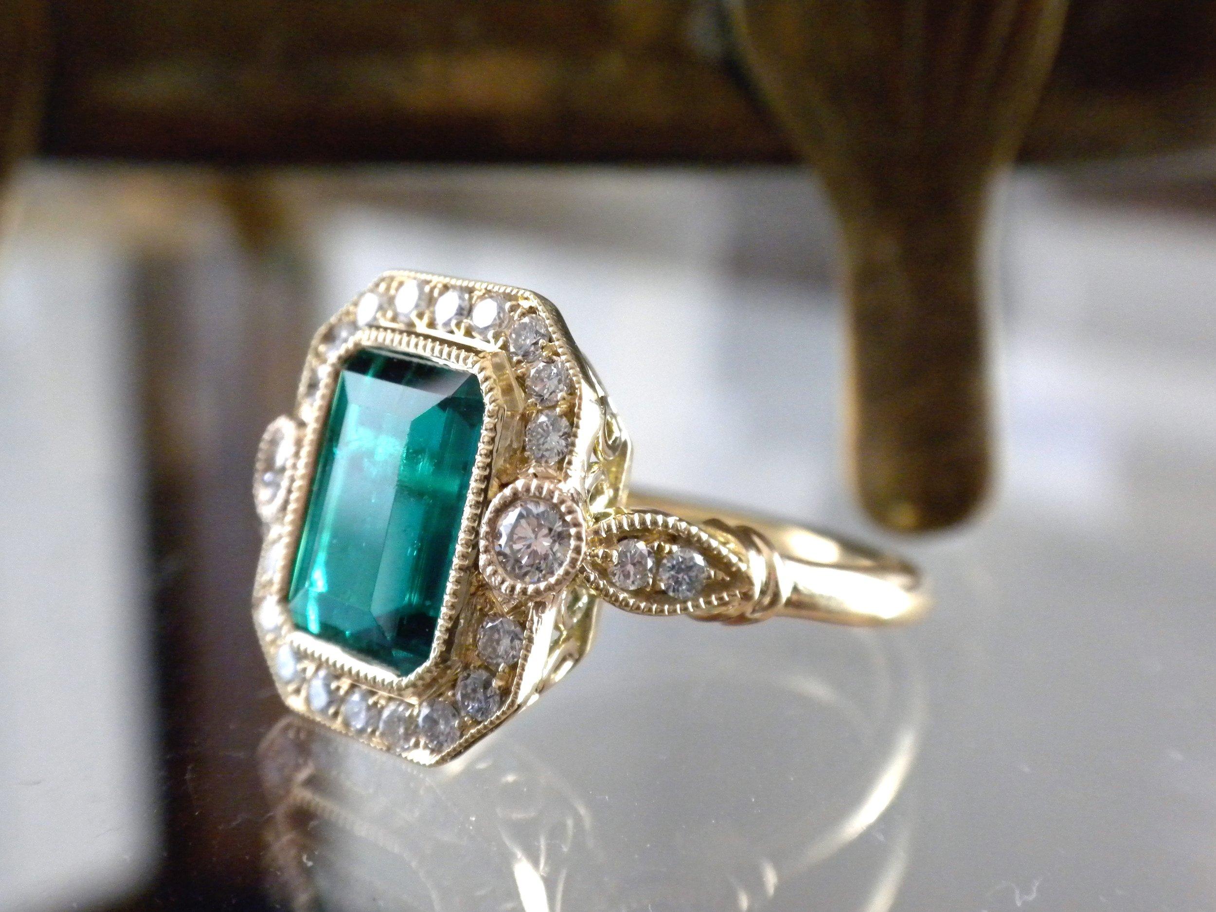 Emerald diana