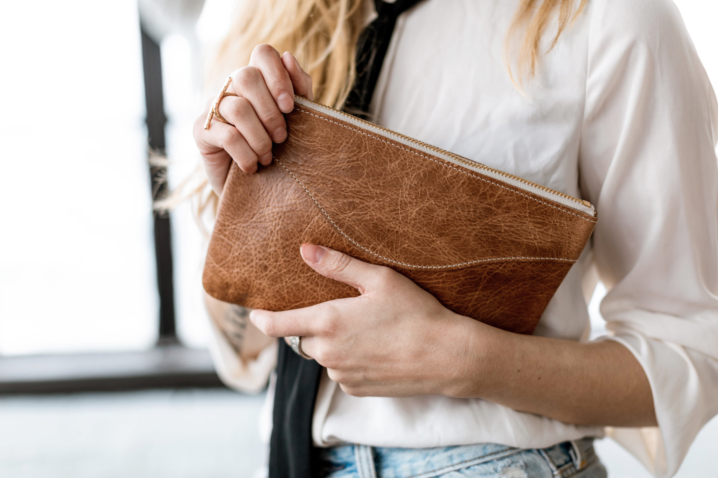 The  Madeline Clutch  by Annie Bukhman