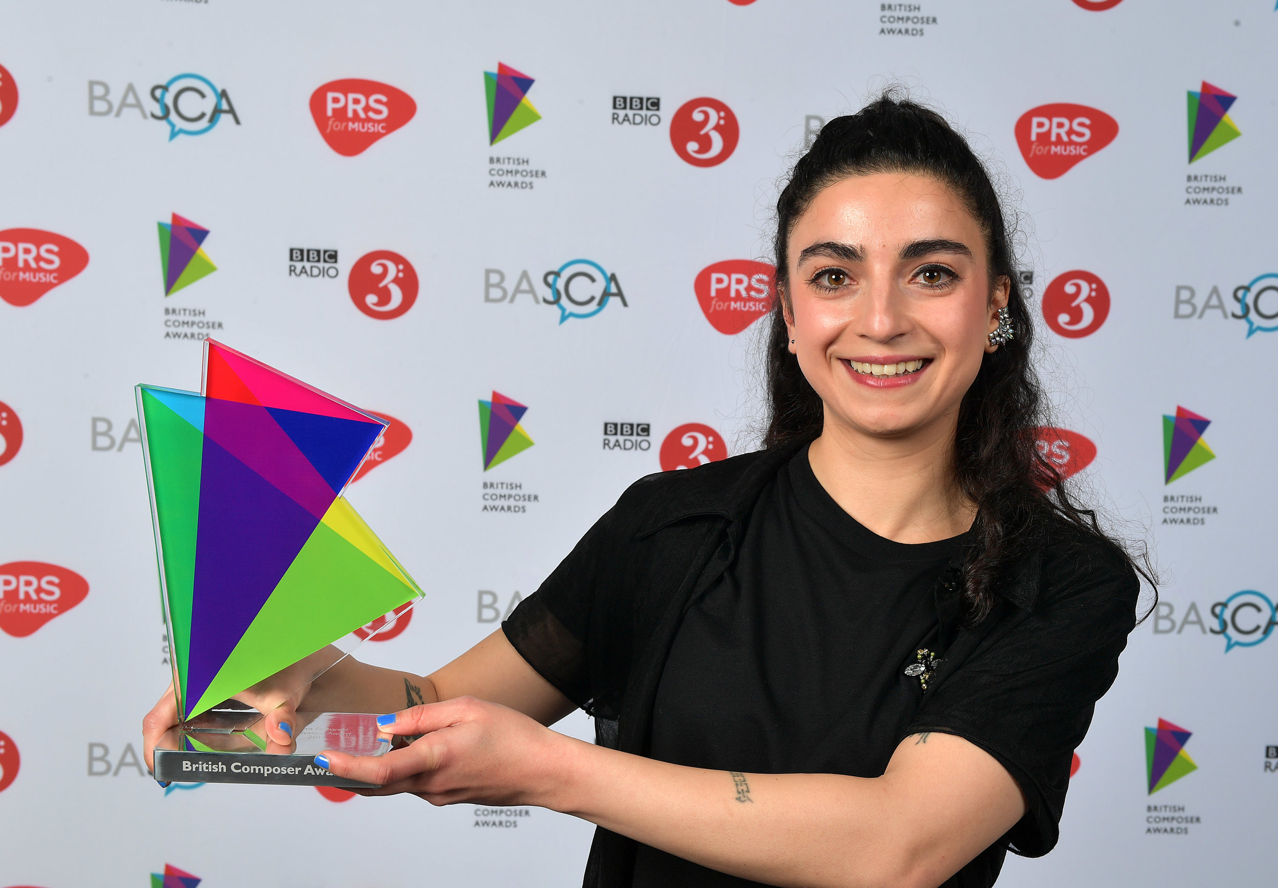 Winner of the 2017 BASCA British Composer Award for Innovation. Photo credit: Mark Allan