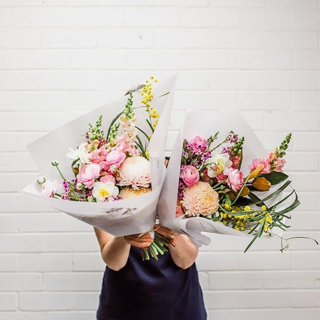 Posy Alert for 23rd September | Monday's posy features chrysanthemum, ranunculus, daffodil, snapdragon,  leucadendron, wax flower and little gem.⠀ ⠀ You can order a single posy for $37, a double posy for $70 or a triple posy for $105, including delivery, and we'll deliver to your door in the afternoon.⠀⠀ ⠀⠀ Just order online by 11:30am, if not sold out prior.⠀ ⠀ TPP x