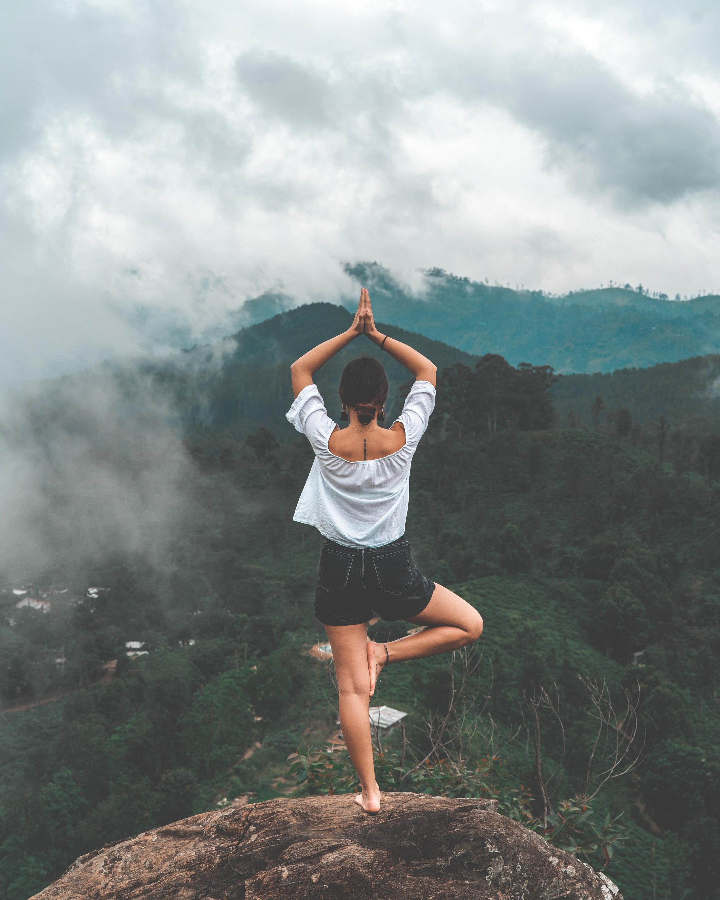deine fünf minuten meditation -