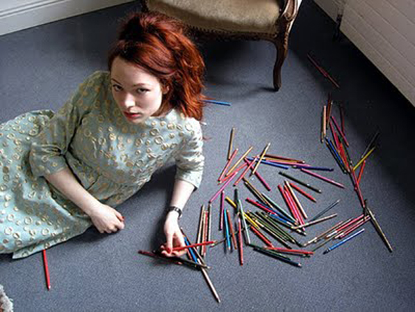 """One million questions for one Mercedes Helnwein"" //   Juxtapoz Art & Culture Magazine"