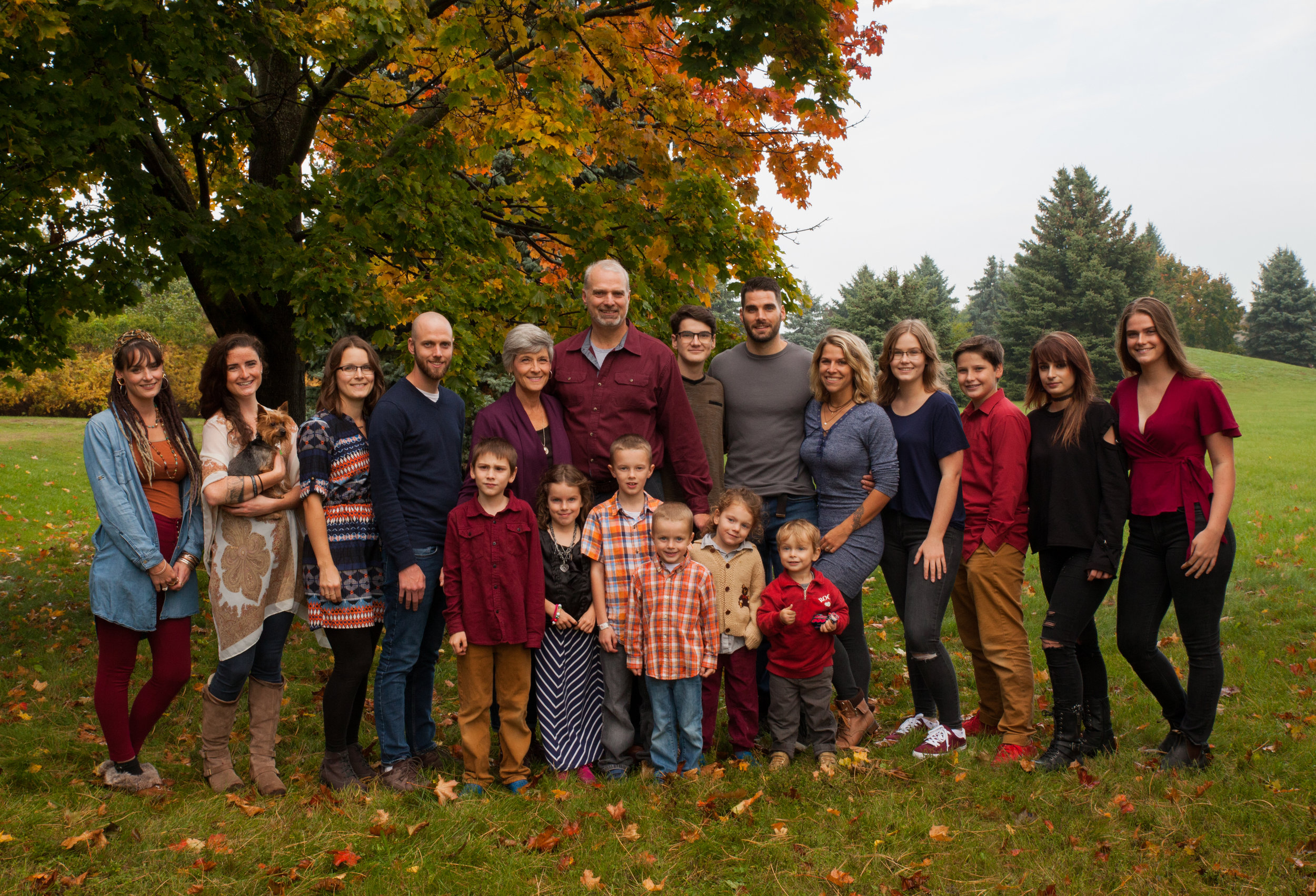 Michelle's Family - The Houghton family