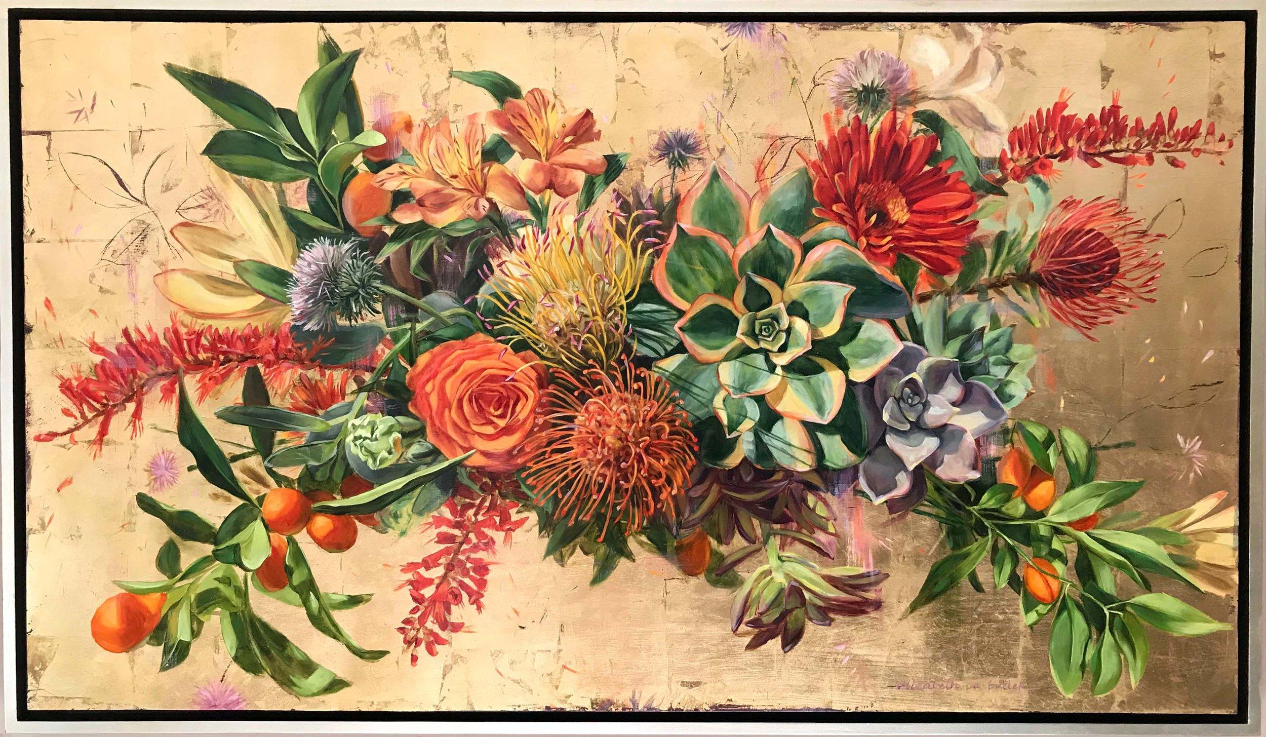 Deborah's Flowers; Succulents and Protea