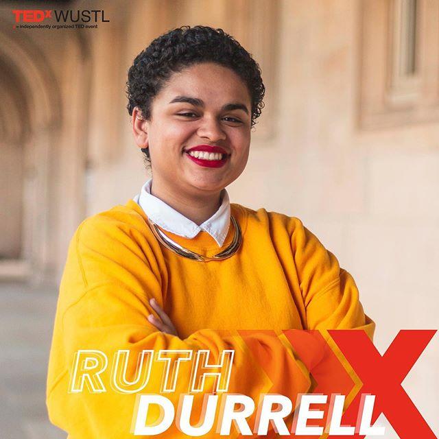 Speaker Reveal #5 ❌ Ruth Durrell ❌ Changemaker ❌ Bio in Comments