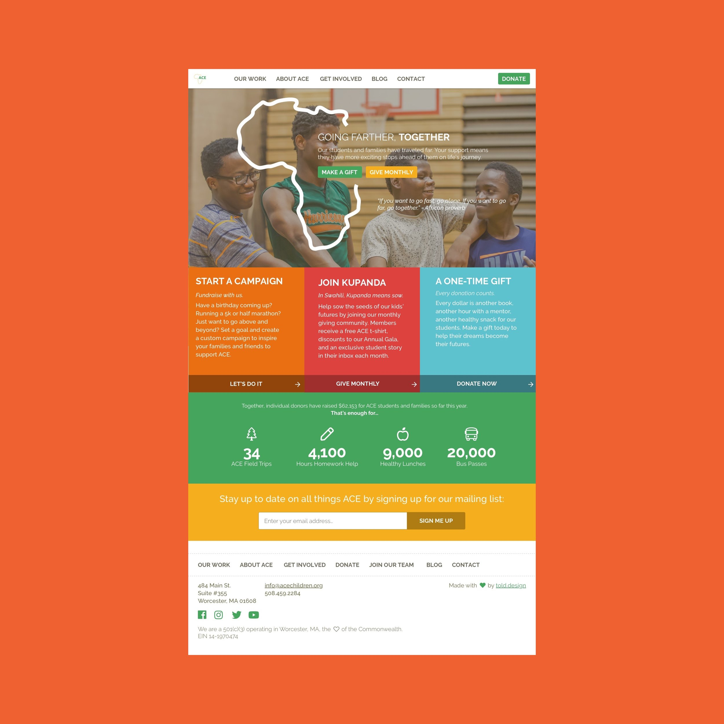 acechildren org-Web Design — Maya Rhinehart