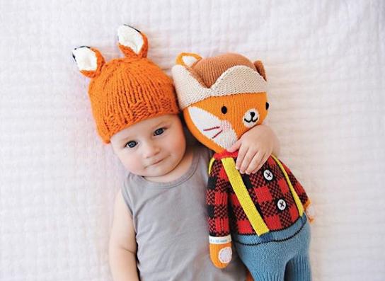 Fox Knitted Cap