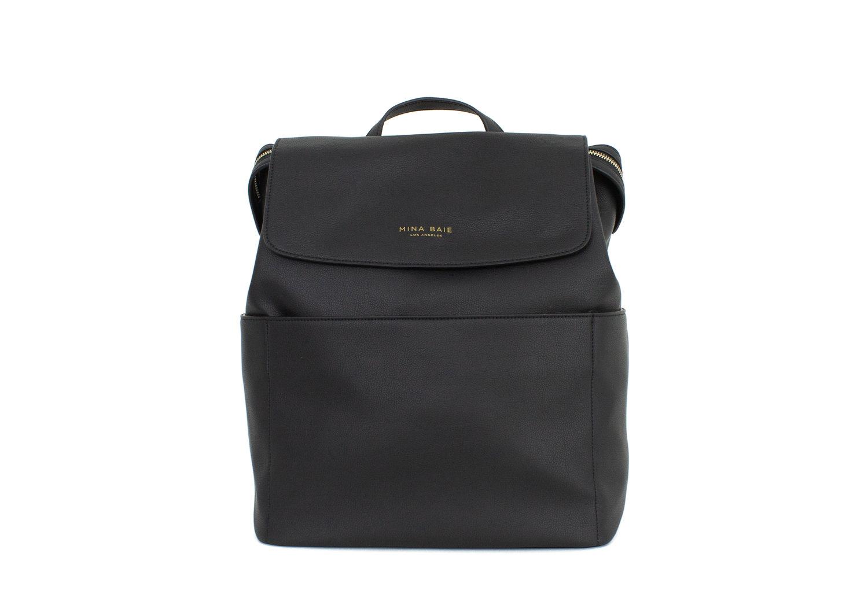 Kinney Backpack (Black) - Convertible Cross-body - Pre-order