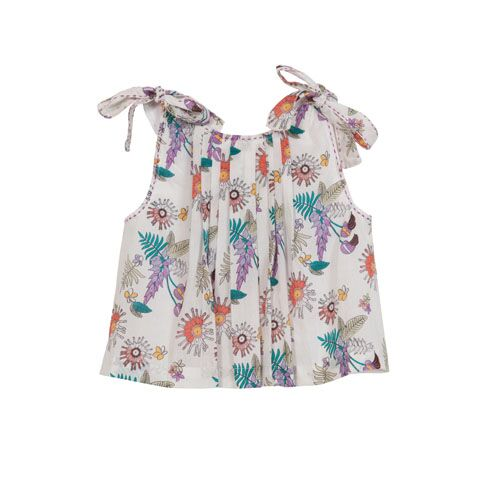 FLORAL 2 PIECE TOP WITH BLOOMERS