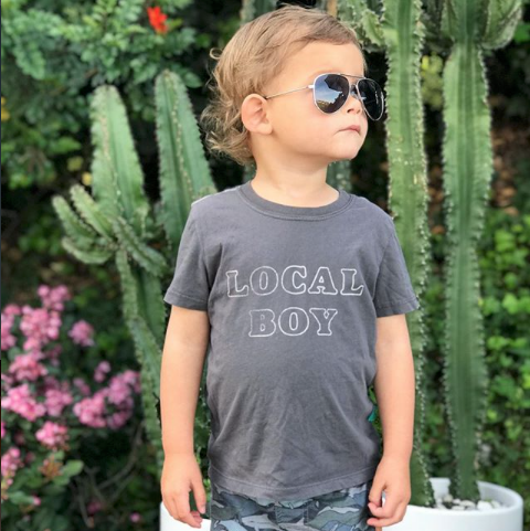 """Local Boy"" Vintage T Shirt"