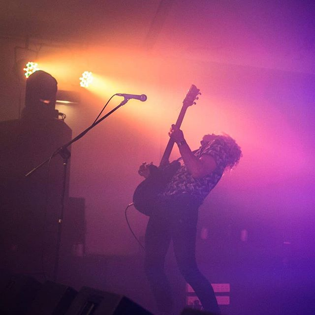 @_tommyflint doing what @_tommyflint does best  #melbourne #music #guitarsolo #guitar #shredding #australianmusic