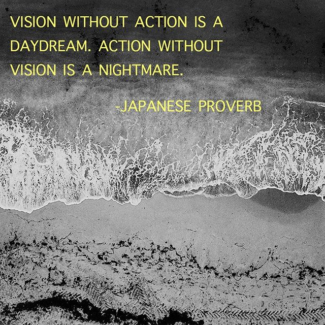 Is your company's vision something that guides you and your decision making? Or is it just a statement posted on a wall somewhere that no one really knows.  Your vision must be the guiding force for everyone within your organization. What vision are you looking to accomplish this year?⁣ .⁣ .⁣ .⁣ .⁣ .⁣ .⁣ #vision #goals #purpose #passion #heartatwork #leadership #leader #culture #visionsetting #team