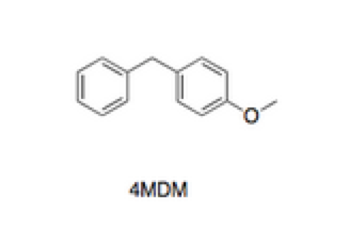 Figure 3. The initial compound tested by Oliveira et al., 4-MDM.