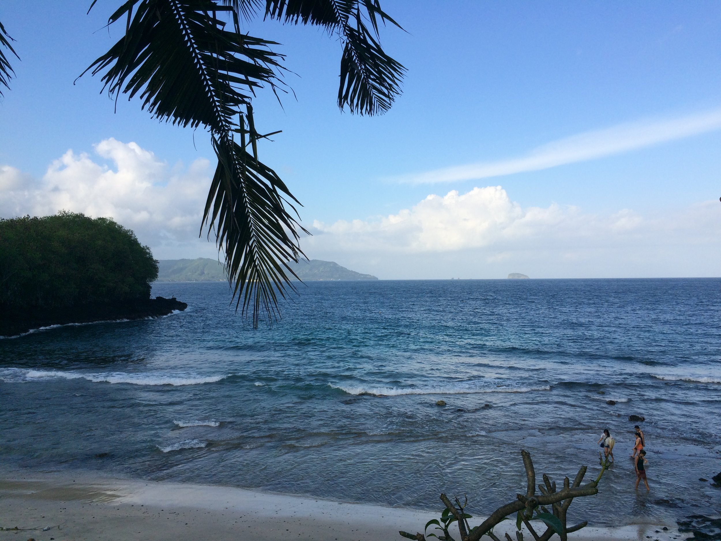 Blue Lagoon Beach in Padang Bai.
