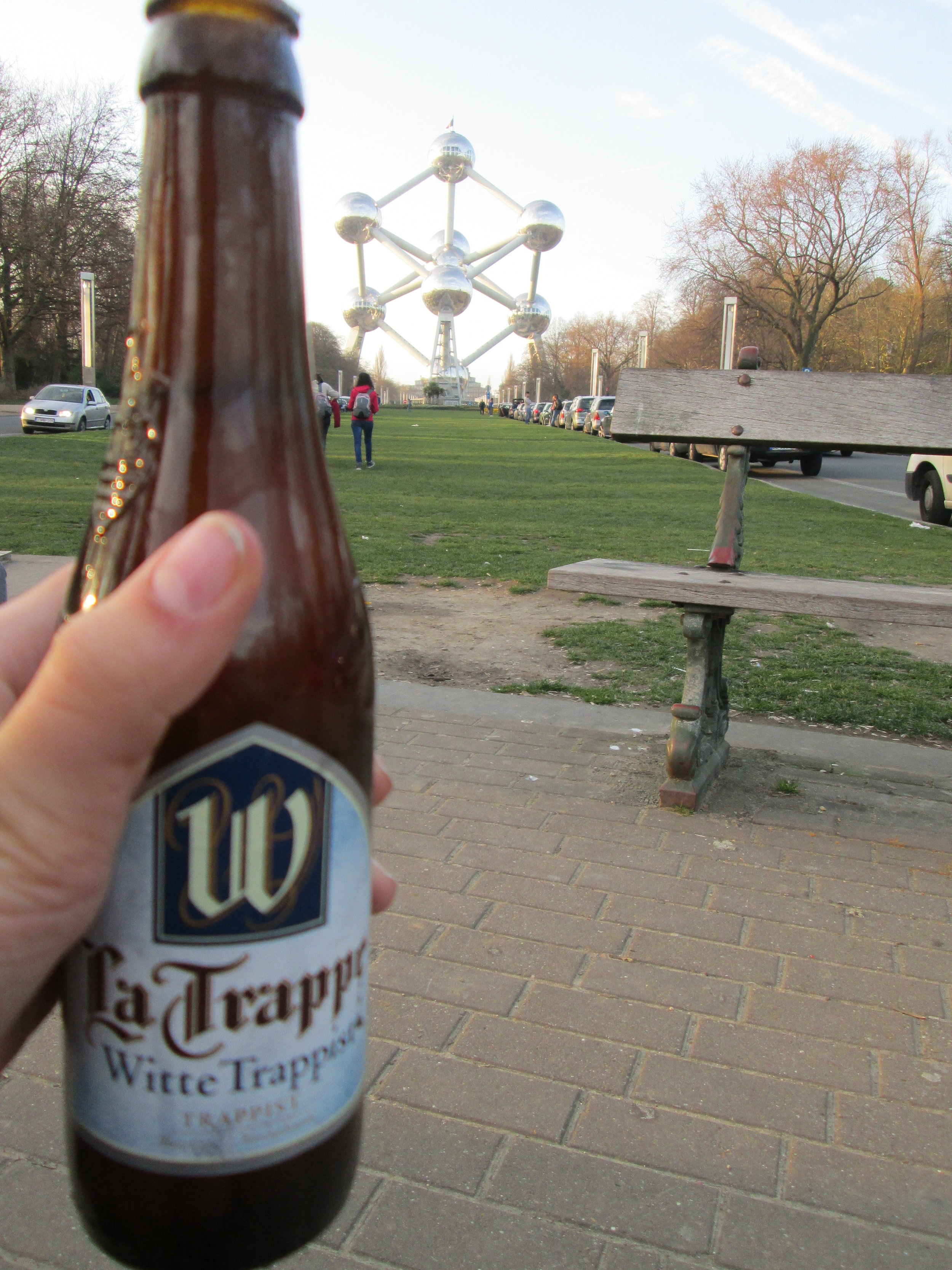 Authentic Trappist beer and the Atomium. Classic Brussels.