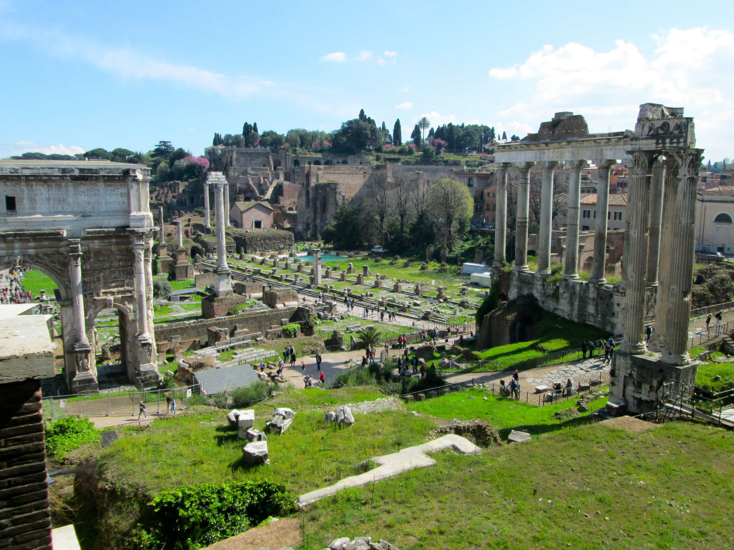 Roman Forum//Palatine Hill. Perhaps the coolest sight ever.