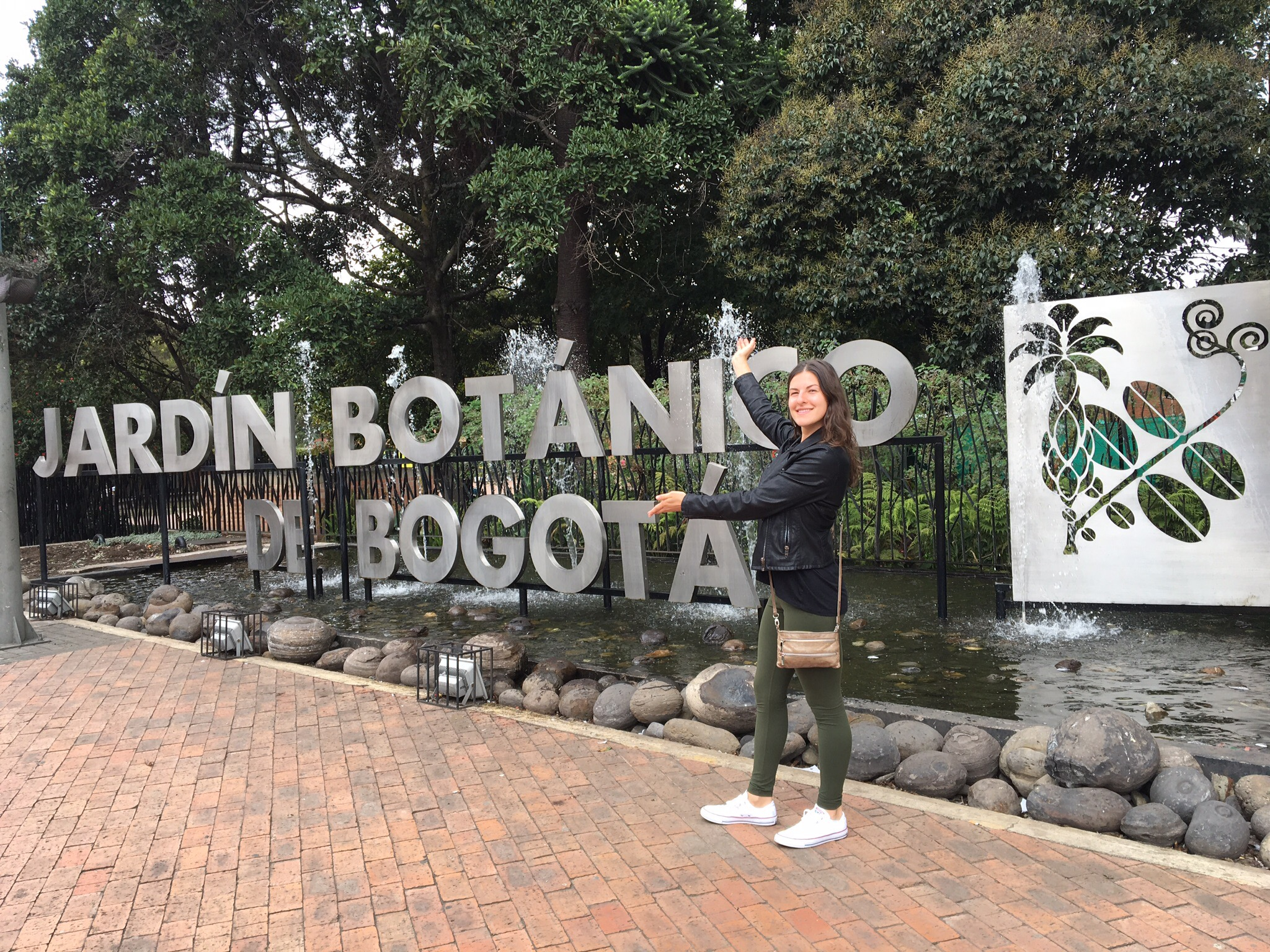 We found the Botanical Gardens in Bogota to be pretty underwhelming.