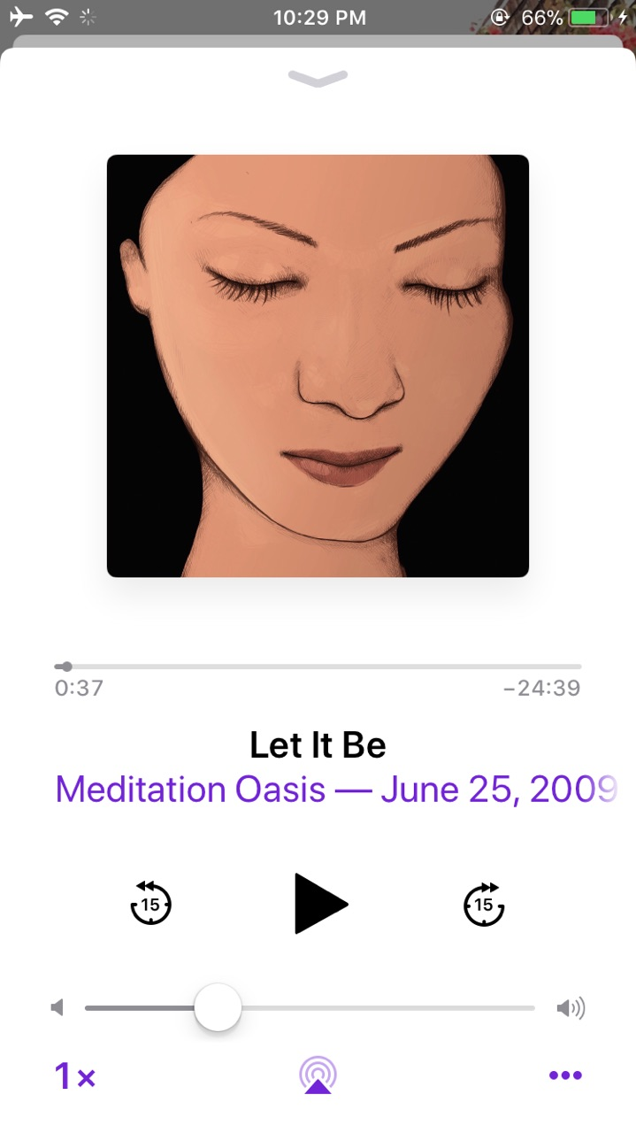One of my favorite episodes from the Meditation Oasis Podcast.