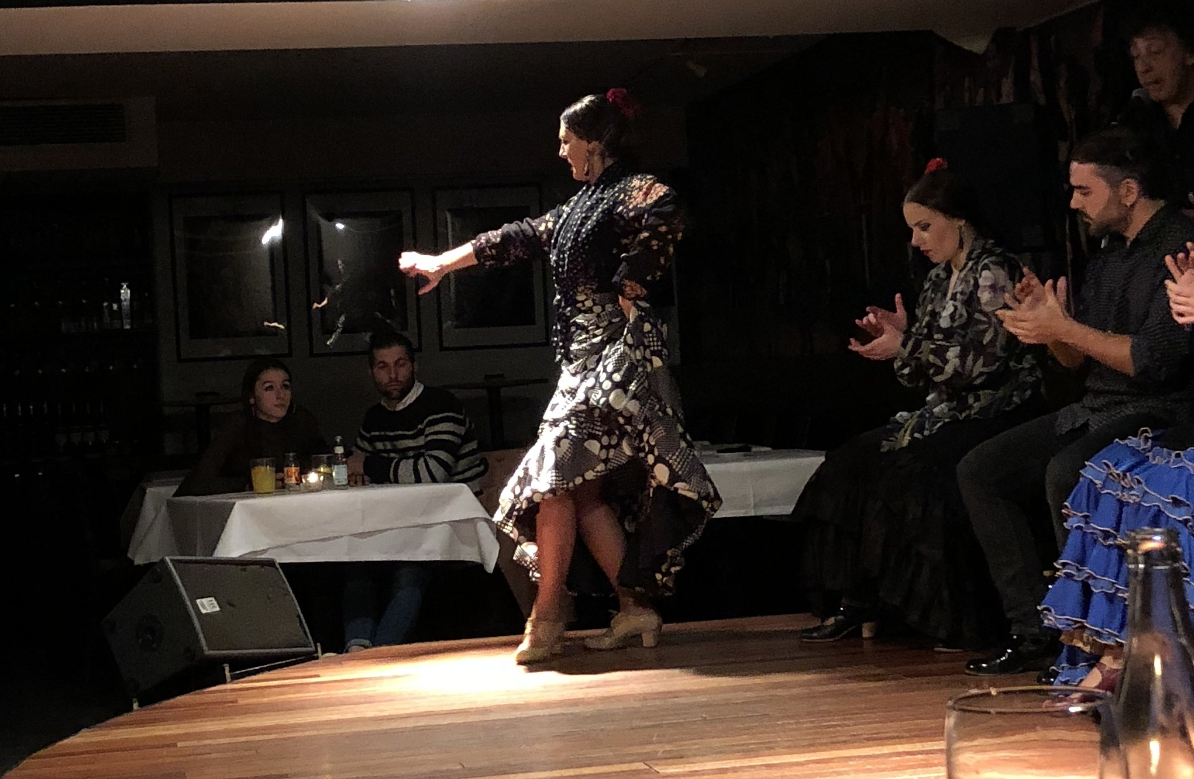 Amazing flamenco show at Las Carboneras! These people should be famous, they're so passionate and talented.